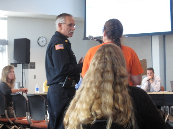 Photo from CEC Workshop 10/19/12 fire discussion